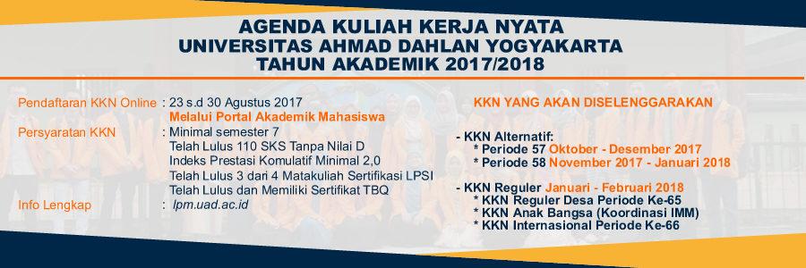 Agenda KKN UAD 2017